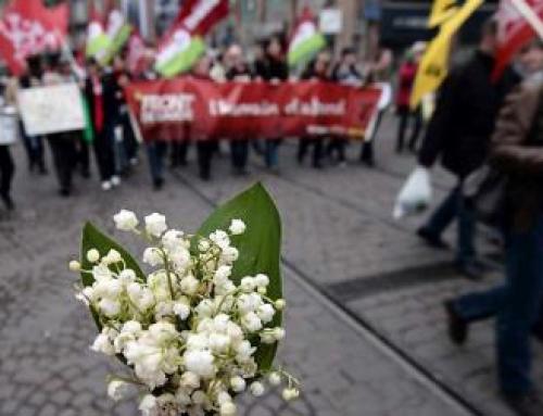 1er mai dans la rue à Alençon
