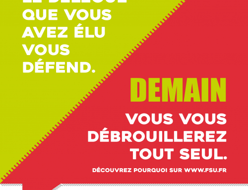 9 mai : journée d'action contre la destruction de la fonction publique