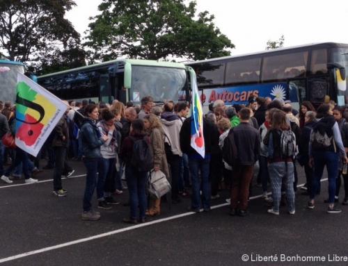 18 mai 2019 : un bus au départ d'Alençon pour monter à Paris !