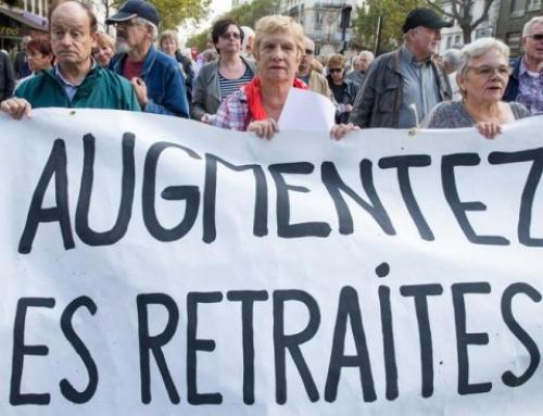 Les retraités dans la rue le 8 octobre 2019