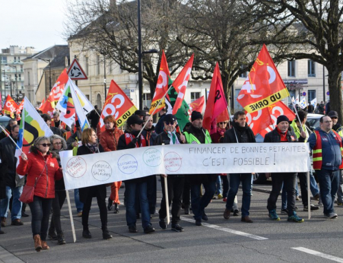 4 février 2021 : Grève et manifestation interprofessionnelles.