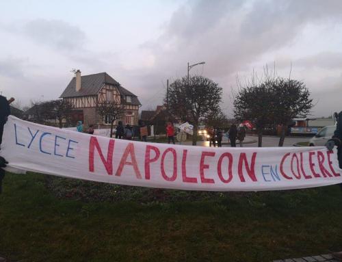 Le lycée Napoléon et les collèges de L'Aigle ne désarment pas !
